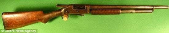 12-gauge 1897 Winchester shotgun