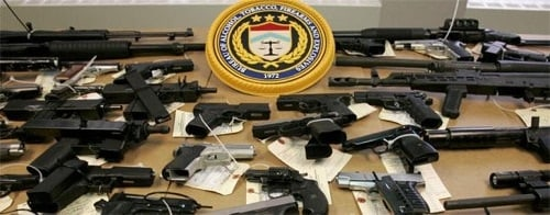 guns confiscated by the atf