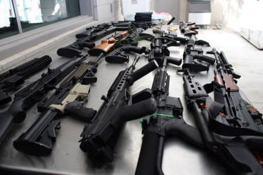 atf confiscated rifles