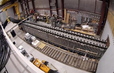 navy laser processing