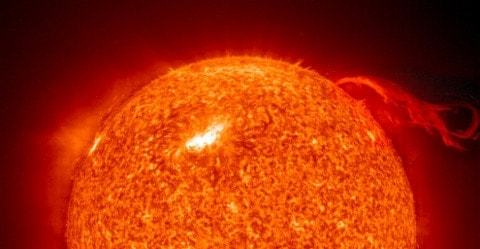 close up photo of detailed sun