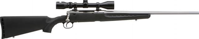 savage axis rifle with scope