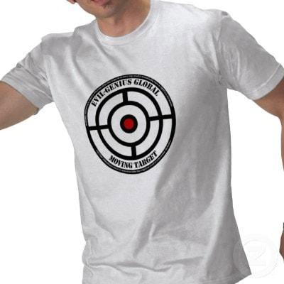 range safety moving target shirt