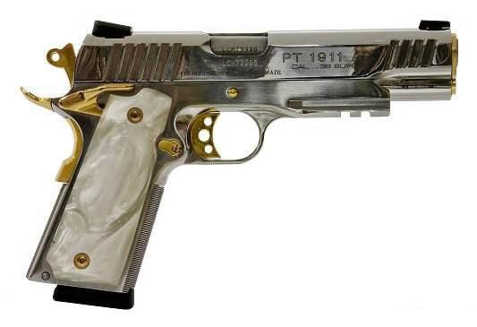 "Engraved ""BBQ Gun"" 1911."