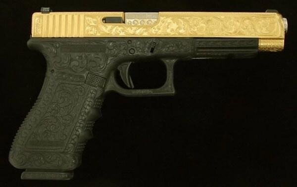 Glock BBQ gun.