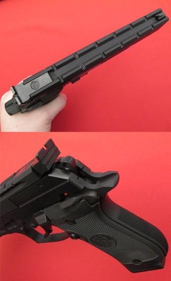 Beretta 87 Target features.