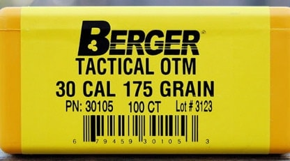 Berger Announces a New From-The-Ground-Up Sniper Bullet