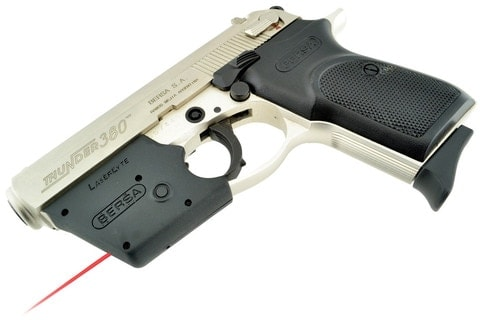 LaserLyte CK-MS installed on a Bersa Thunder .380 right side