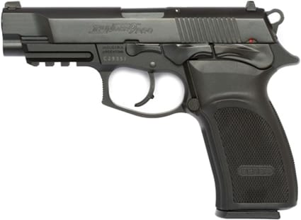 Bersa Thunder with a black finish and chambered in 9mm.