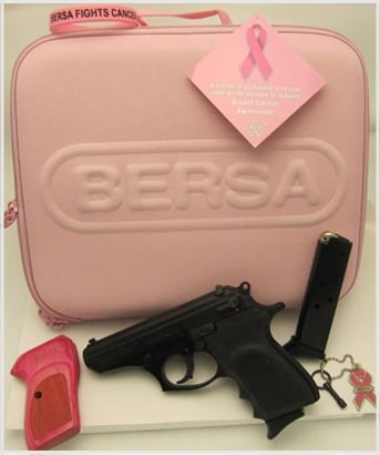 Bersa Thunder .380 Pink Breast Cancer Awareness Kit