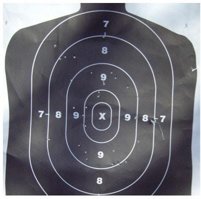 size f buckshot pattern