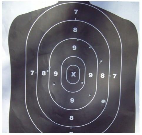 buck pattern on target