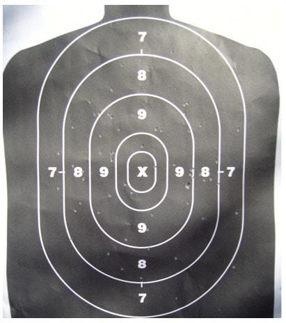 remington gun shooting pattern