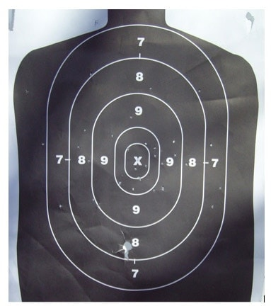 t hevi shot pattern