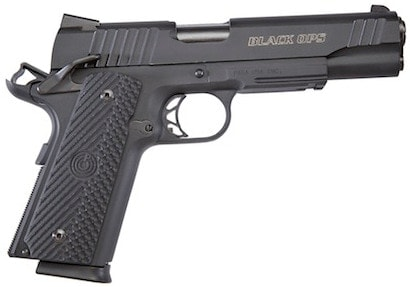 The Para 1911 Black Ops single-stack 8+1