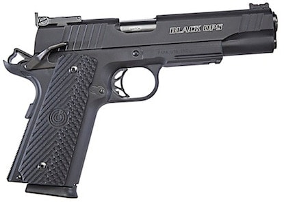 The Para 1911 Black Ops Limited competition single-stack 8+1