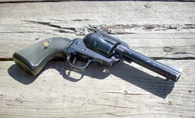 The Ruger Blackhawk used Colt's Single-Action revolver design to create an iconic handgun of its own.
