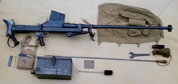 Boys anti-tank gun assembled.