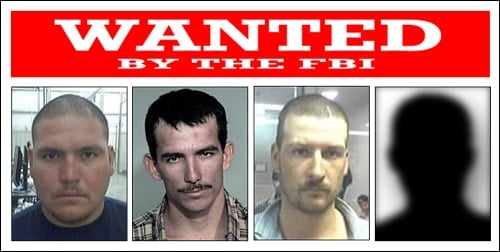 fugitives wanted poster