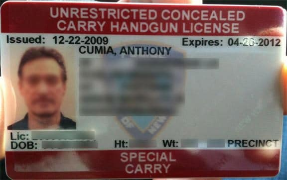 anthony cumia concealed carry handgun license