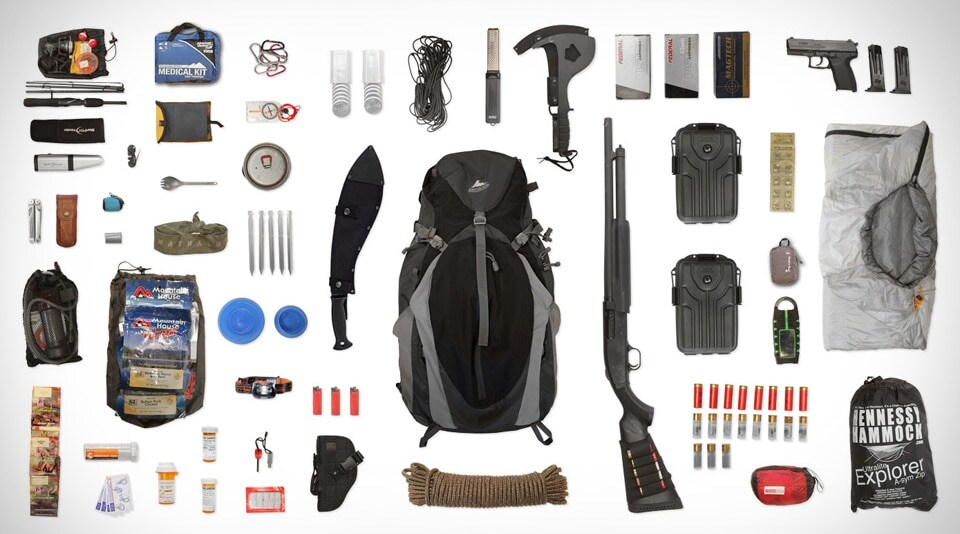 Bug Out Bag contents