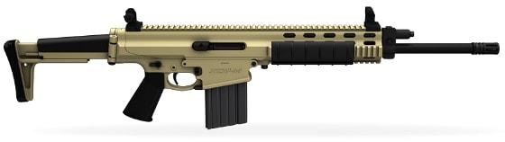xcr-m rifle on white background