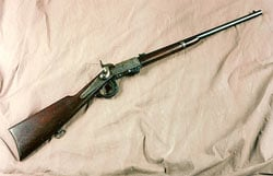 The Burnside Carbine was used during the Civil War.