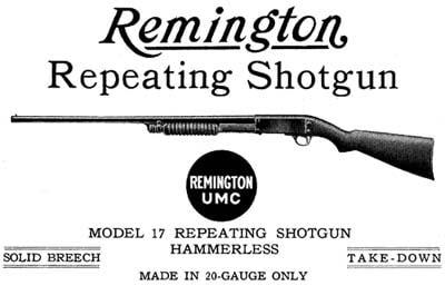 remington repeating shotgun