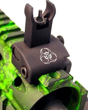 SOC-150 'Zombie Hunter' custom QDS sights