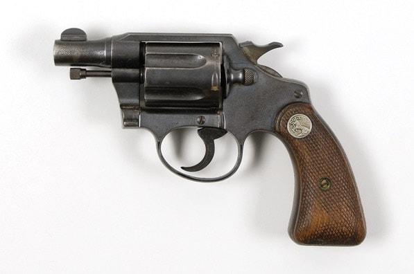 Bonnie Parkers Colt Detective in .38.