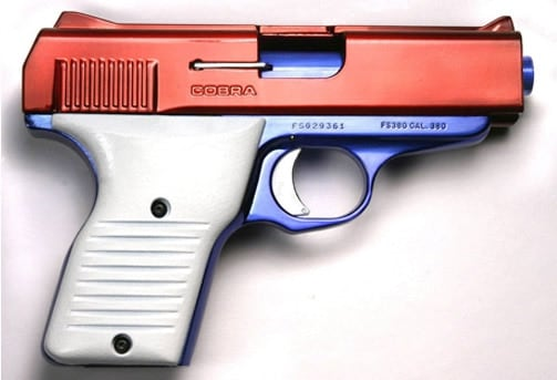 Cobra .380 pistol
