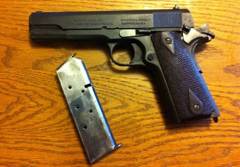 An Original Colt 1911: A hundred years old and still living up to