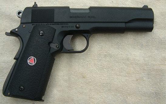 Delta 1911 pistol