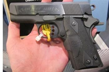 Colt New Agent Crimson Trace 9mm .45 ACP