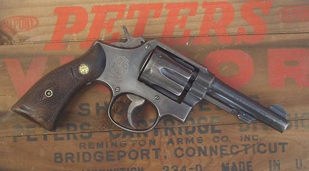 S&W Military & Police revolver.