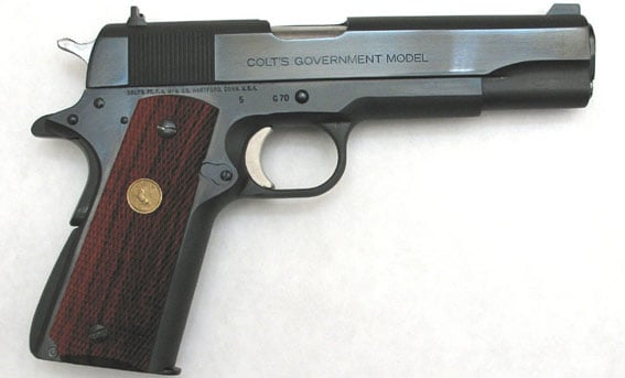 """Colt Series 70 """"Government Model"""" 1911"""