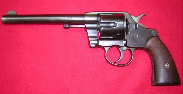 long barrel revolver