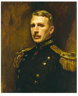 portrait of general wood