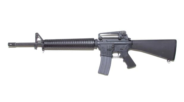colt m16 assault rifle