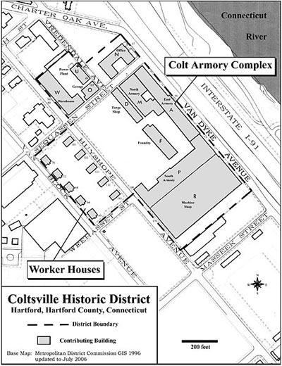 Coltsville district.