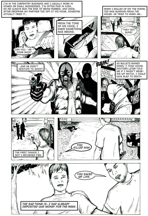 gun comic