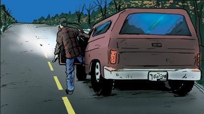 hunting comic