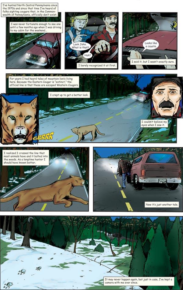 cougar comic