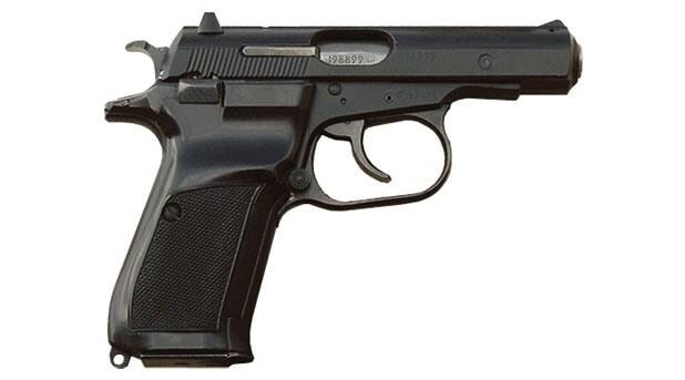 CZ-82 semi automatic pistol