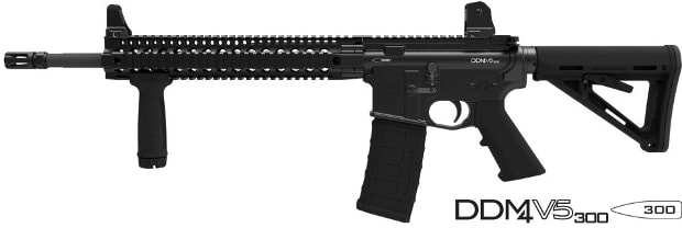 DDM4 V5 300 AAC Blackout