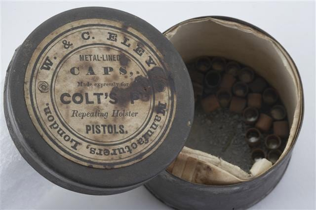 metal lined caps