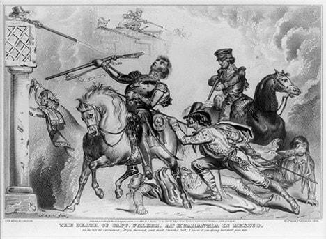 The death of Capt. Samuel Walker at Huamantla