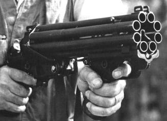 Colt 8 barrel 20 gauge shotgun