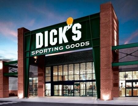 dicks sporting goods storefront