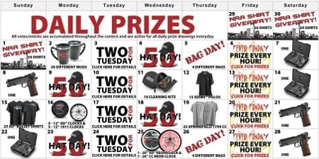 daily prize advertisement